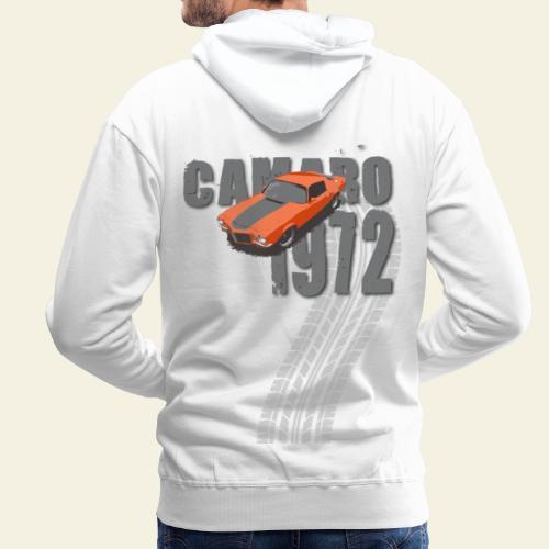 1972 camaro - Herre Premium hættetrøje