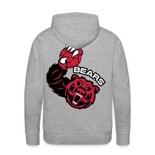 Bears Handball - Sweat-shirt à capuche Premium pour hommes