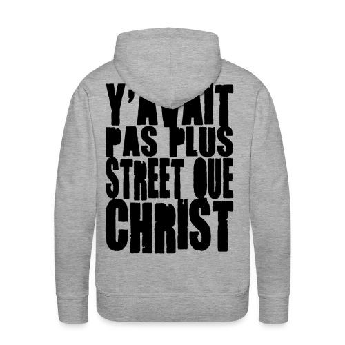 YPPSQCblk - Sweat-shirt à capuche Premium pour hommes