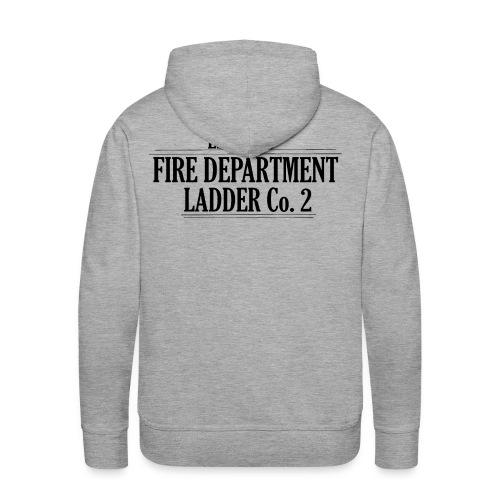 Fire Department - Ladder Co.2 - Herre Premium hættetrøje