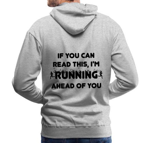 Lauf Joggen Running - Männer Premium Hoodie