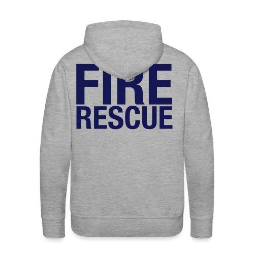 Fire and Rescue - Men's Premium Hoodie