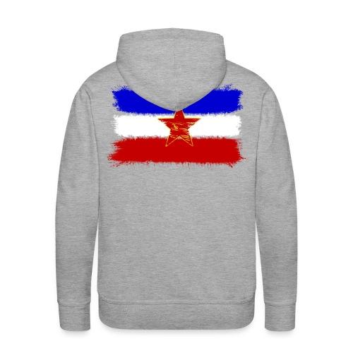 Jugoslawien Flagge - Männer Premium Hoodie
