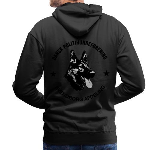 Svendborg ph sort - Herre Premium hættetrøje