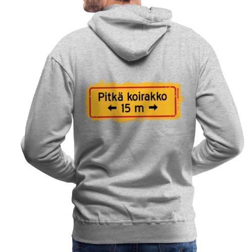 KOIRAKKO SPLASH 15m - Miesten premium-huppari