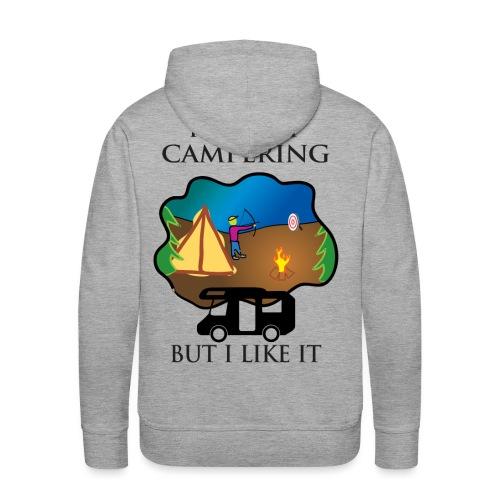 To tylko campering, ale to lubię - Bluza męska Premium z kapturem
