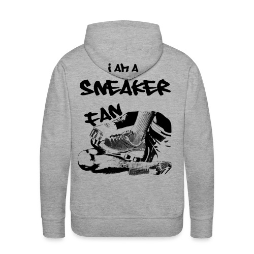 i am a sneaker fan - Männer Premium Hoodie