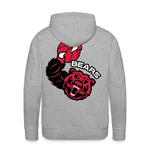 Bears Basketball - Sweat-shirt à capuche Premium pour hommes