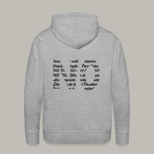 NO - Sweat-shirt à capuche Premium pour hommes