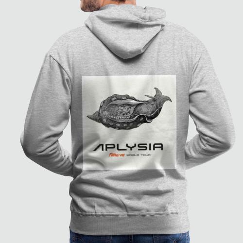 Aplysia Meeresschnecke Albumcover Follow me - Männer Premium Hoodie