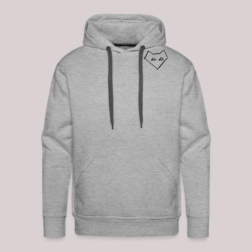 Männer Langärmel Shirt FOX BACKPRINT - Männer Premium Hoodie
