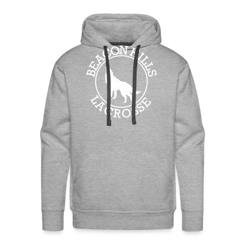 BEACONS HILL LACROSSE Logo - Men's Premium Hoodie