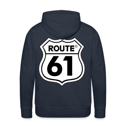 Route 61 - Mannen Premium hoodie