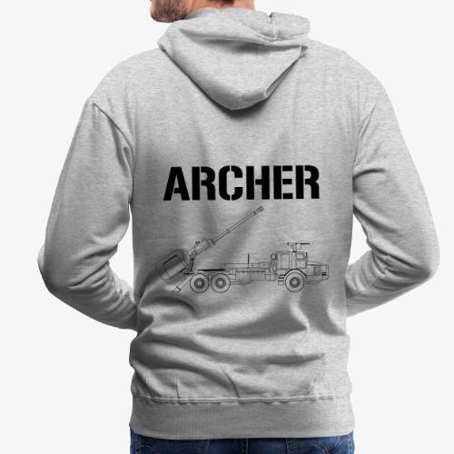 Artillerisystem ARCHER - Premiumluvtröja herr