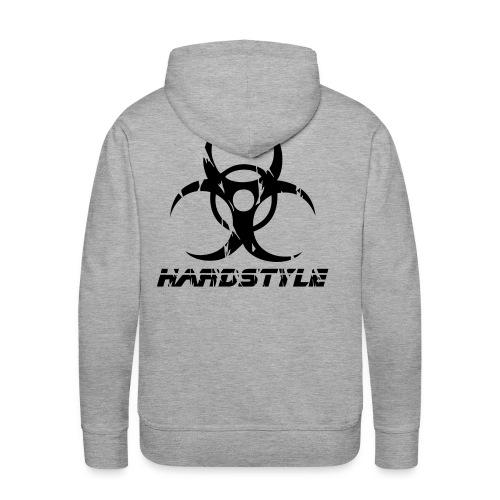 Hardstyle Biohazard - Premiumluvtröja herr