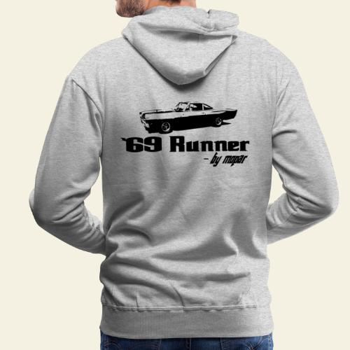 roadrunner 69 - Herre Premium hættetrøje