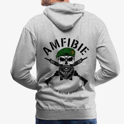 AMFIBIE - Korslagda Ak 5C - Premiumluvtröja herr