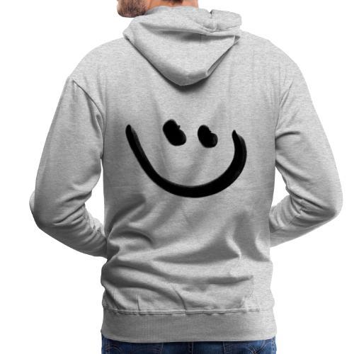 Smile Happy - Männer Premium Hoodie