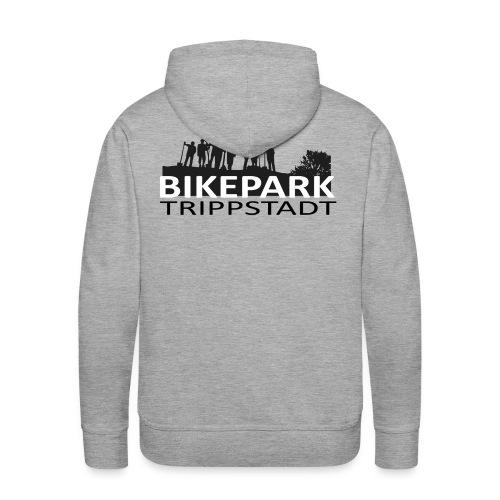 Bikepark staff in schwarz - Männer Premium Hoodie