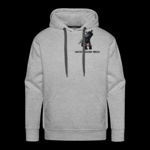 CBM Black Hoodie - Men's Premium Hoodie