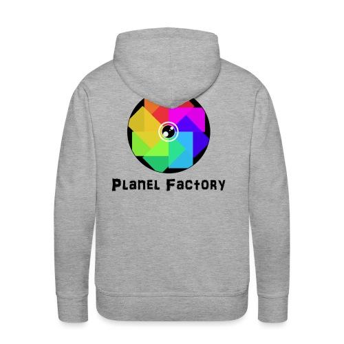 Planel Factory - Sweat-shirt à capuche Premium pour hommes