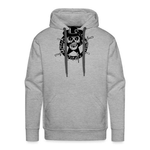 logo anarchy tete mort skull head dead - Sweat-shirt à capuche Premium pour hommes