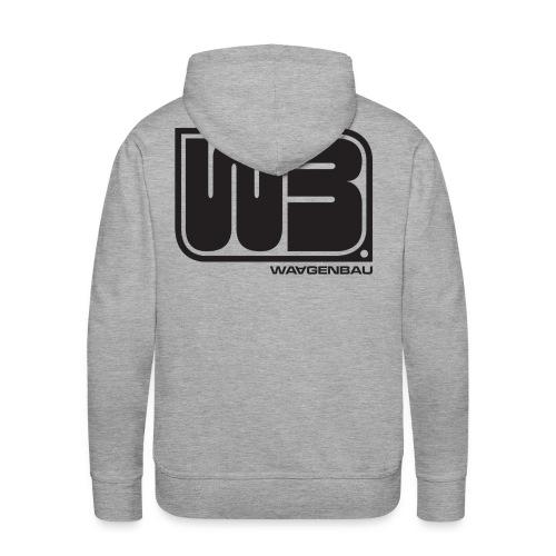 waagenbauoldschool - Männer Premium Hoodie