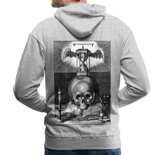 Dizruptive memento mori - Männer Premium Hoodie