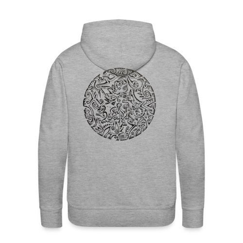 kalipol - Sweat-shirt à capuche Premium pour hommes