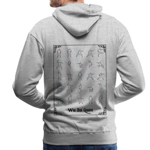 Wu Bu Quan - Sweat-shirt à capuche Premium pour hommes
