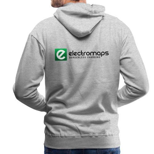 Electromaps color - Sudadera con capucha premium para hombre