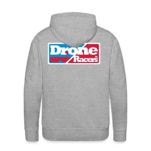 droneracers_logo_final - Mannen Premium hoodie