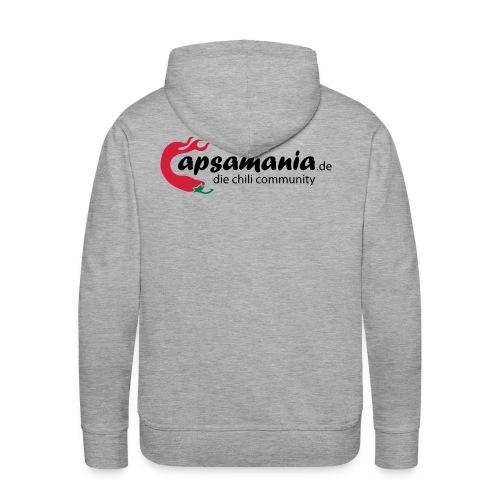 capsamania logo cmyk - Männer Premium Hoodie