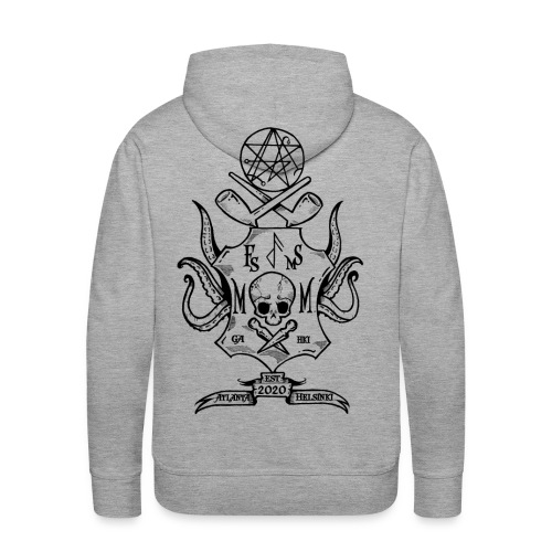 Frost Pipes & Misfits And Makers - Men's Premium Hoodie