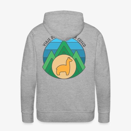 Viaje de la trinité - Sweat-shirt à capuche Premium pour hommes