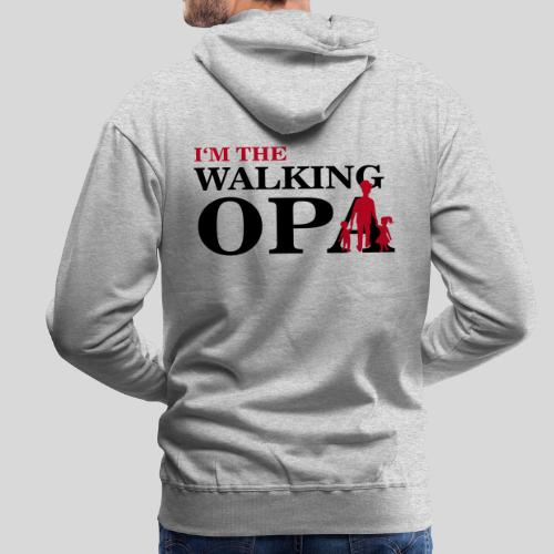 The Walking Opa 1 - Männer Premium Hoodie