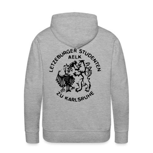 AELK Logo mat Schreft - Männer Premium Hoodie