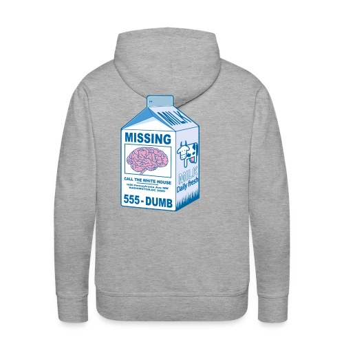 Missing brain - Men's Premium Hoodie