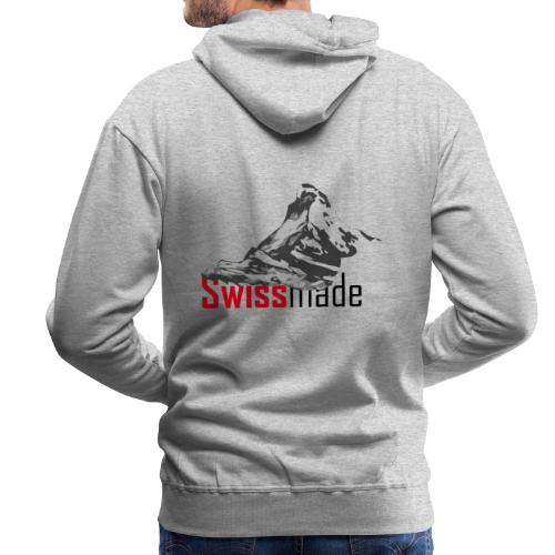 Swiss made logo - Männer Premium Hoodie