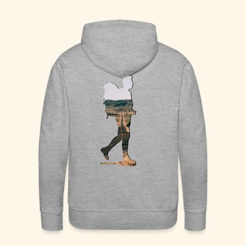 Backpacker-Highway - Männer Premium Hoodie