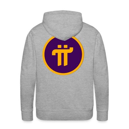 Pi Network Wear - Sweat-shirt à capuche Premium pour hommes