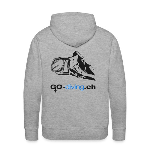Go-Diving - Sweat-shirt à capuche Premium pour hommes