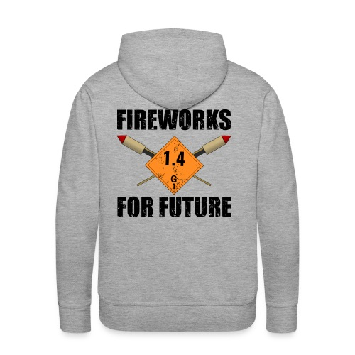 Fireworks for Future Pyro - Männer Premium Hoodie