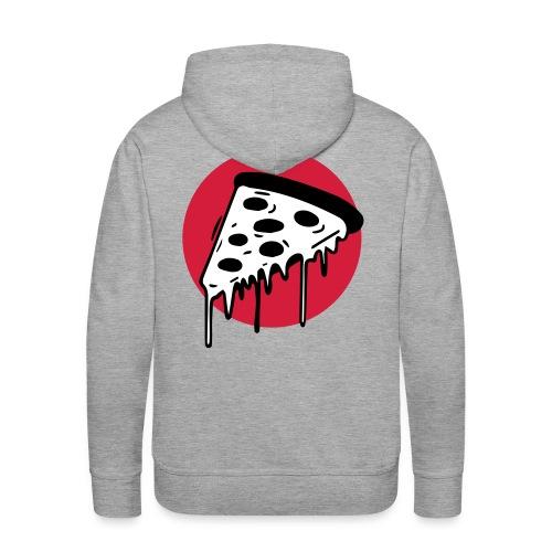 Pizza Punkt Duisburg - das magische Dreieck! - Männer Premium Hoodie