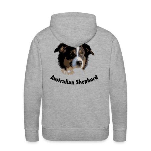 australian shepherd aussie hund hüte hüten border - Männer Premium Hoodie