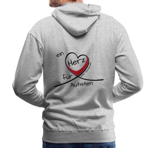 Ein Herz für Autisten - Männer Premium Hoodie