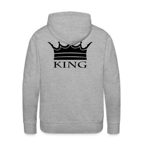 Amour - King - Sweat-shirt à capuche Premium pour hommes