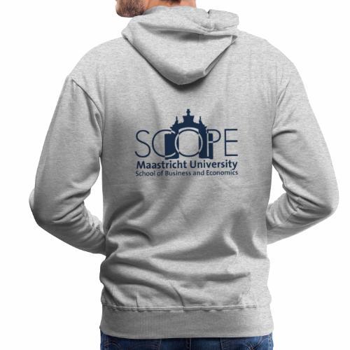 SCOPE Logo Blue - Men's Premium Hoodie