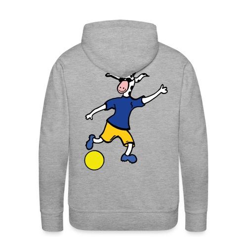 Cowly Fussball Top - Männer Premium Hoodie