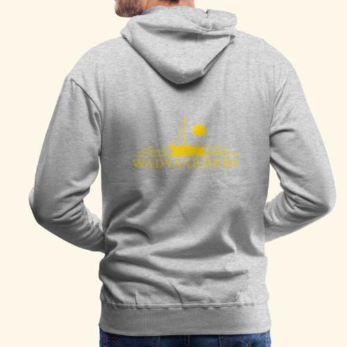 Wadvaarderslogo - Mannen Premium hoodie